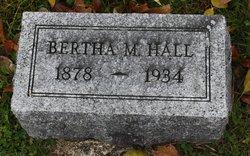 Bertha Imogene <I>Mitchell</I> Hall