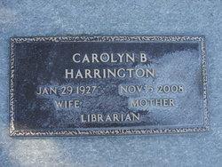 Helen Carolyn <I>Brome</I> Harrington