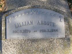 Lillian <I>Hermile</I> Abbott