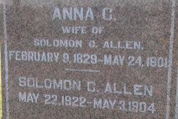 Anna C <I>Whitney</I> Allen