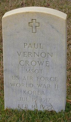 Paul Vernon Crowe