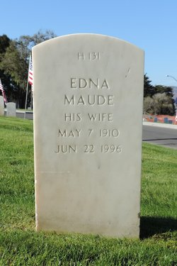 Edna Maude <I>Holman</I> Cunningham