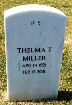 Thelma T. <I>Schon</I> Miller