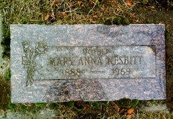 Mary Anna Nesbitt