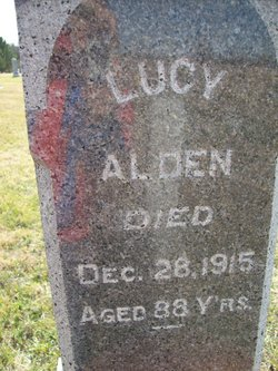 Lucy <I>Hovey</I> Alden