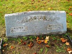 Mathilda J. <I>Clasen</I> Kolb