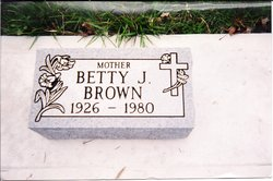 Betty Jean <I>Casey</I> Brown