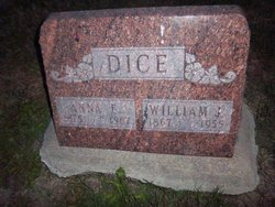 Anna E. <I>Hatcher</I> Dice