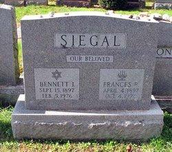 Frances <I>Berkowitz</I> Siegal