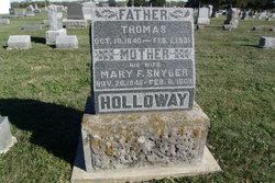 Mary F <I>Snyder</I> Holloway