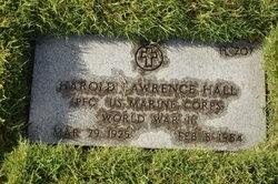 PFC Harold Lawrence Hall