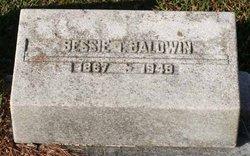 "Elizabeth Saunders ""Bessie"" <I>Taylor</I> Baldwin"