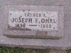Joseph Frank Ohri