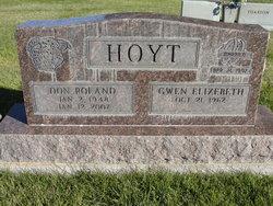 """Don Roland """"Donny"""" Hoyt"""