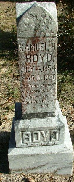 Samuel H Boyd