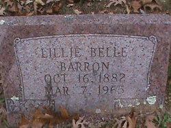 Lillie Belle <I>Pirtle</I> Barron