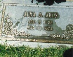 Alma Alberta May <I>Geiser</I> Amos