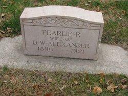 Pearlie Rosa <I>Gillham</I> Alexander