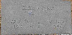 Elsie E <I>Kray</I> King