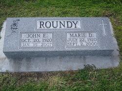 Marie Dorothy <I>Vander Wey</I> Roundy