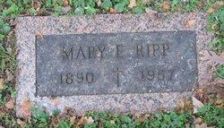 Mary E <I>Endres</I> Ripp