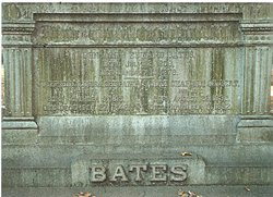 Sarah Chapman <I>Gilbert</I> Bates