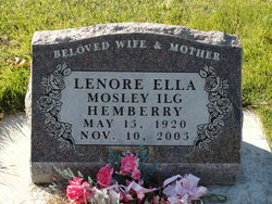 Lenore Ella <I>Ilg</I> Hemberry