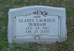 Gladys Lauriece <I>Bagwell</I> Durham