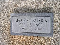 Marie <I>Graves</I> Patrick