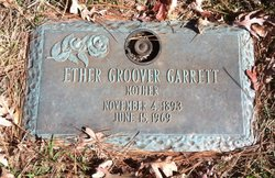 Ether <I>Groom</I> Garrett