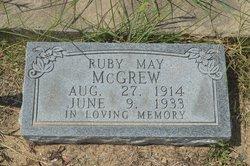 Ruby May McGrew