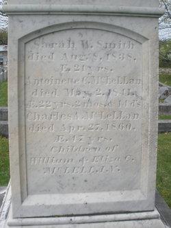 Sarah Washburn <I>McLellan</I> Smith