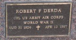 Robert F Derda