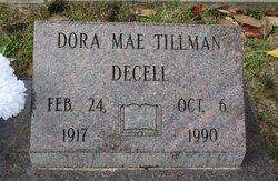 Dora Mae <I>Tillman</I> Decell