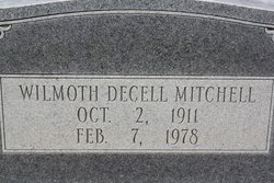 Wilmoth <I>Decell</I> Mitchell