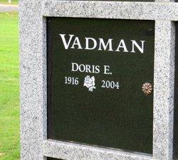 Doris E. Vadman