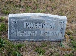 "George Josephus ""Joe"" Roberts"