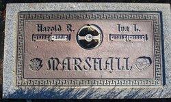 Harold R Marshall