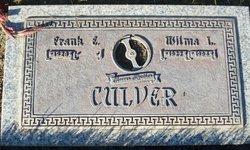 Frank E Culver