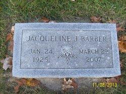 Jacqueline J Barber