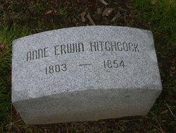 Anne <I>Erwin</I> Hitchcock