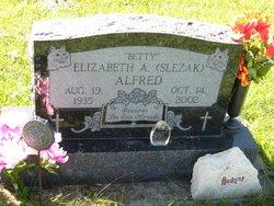"Elizabeth A ""Betty"" <I>Slezak</I> Alfred"