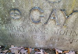 Mary Jane <I>Harris</I> Gay