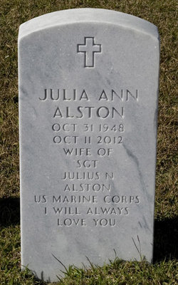 Julia Ann <I>Coe</I> Alston