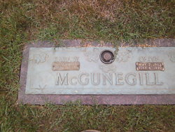 Earl W McGunegill