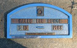Caleb Lee Runge