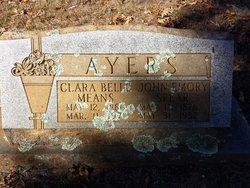 Clara Belle <I>Means</I> Ayers
