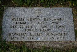 Rowena Ellen <I>Halbrook</I> Benjamin