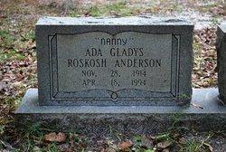 Ada Gladys <I>Cline</I> Anderson