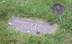 Pvt Thomas M Barrett